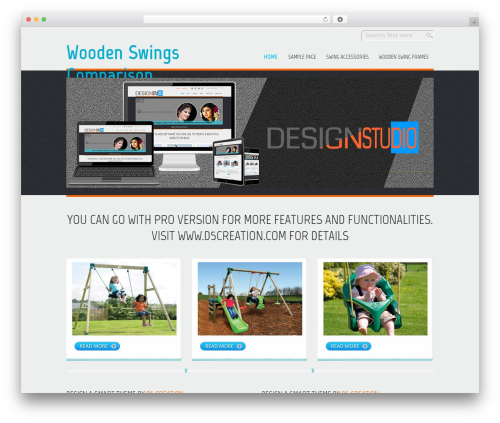 D5 Design free website theme - woodenswings.co.uk