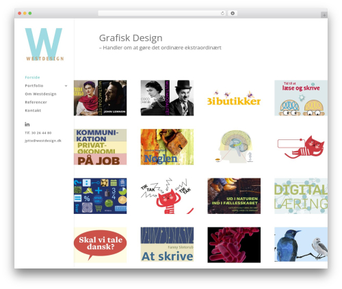 Divi premium WordPress theme - westdesign.dk