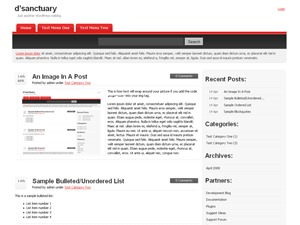 dsanctuary WordPress theme image
