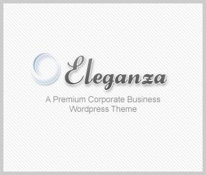 Eleganza Corporate Business WordPress Theme company WordPress theme