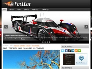 FastCar WordPress blog template