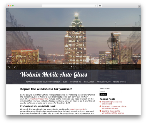 I Am One WordPress theme - wolmin.com