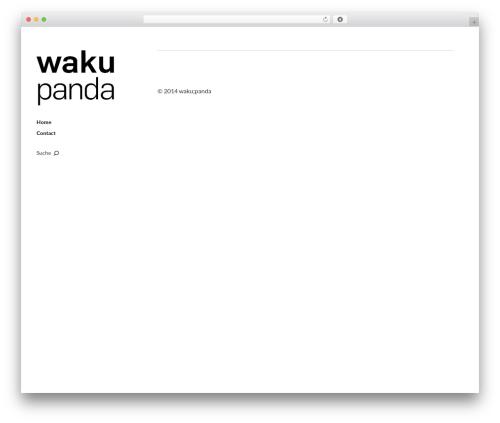 Moka template WordPress - wakupanda.com