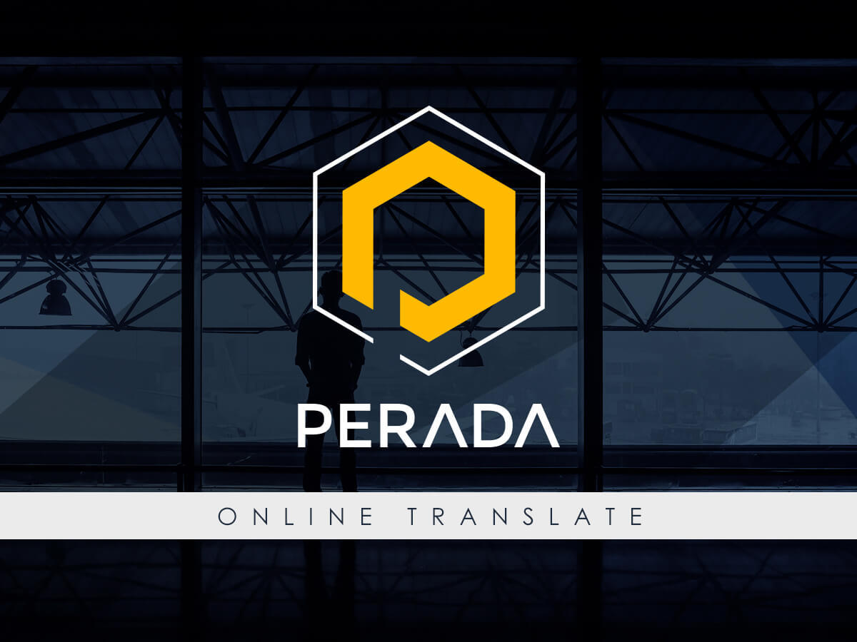 Perada company WordPress theme