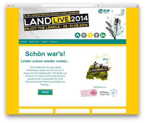 Responsive best free WordPress theme - wirsindkljb.de