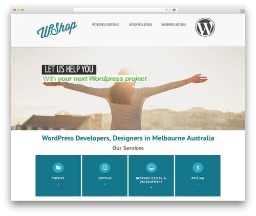 Reverence WordPress theme - wordpress.wwwshop.com.au