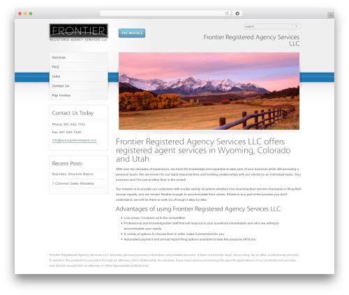 RT-Theme 10 best WordPress template - wyoregisteredagent.com