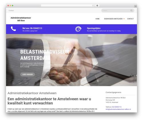 Sanitorium free WordPress theme - wilbon.nl