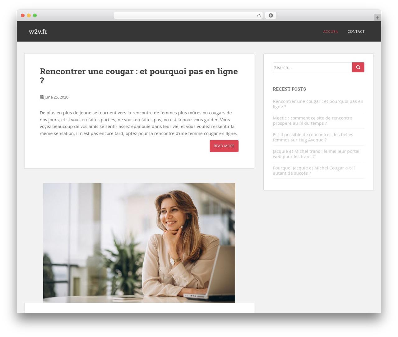 modèle WordPress site de rencontres lignes d'introduction pour les rencontres en ligne