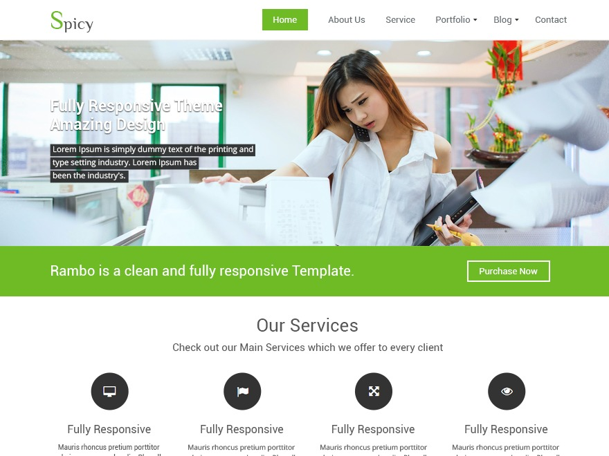 Spicy theme WordPress free
