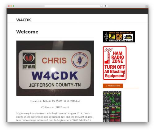 Stargazer WordPress theme free download - w4cdk.com
