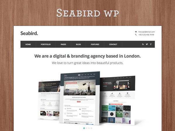 Template WordPress Seabird