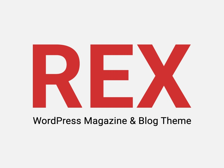 The REX WordPress blog theme