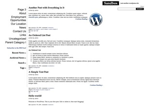 Theme WordPress Tabula Rosa