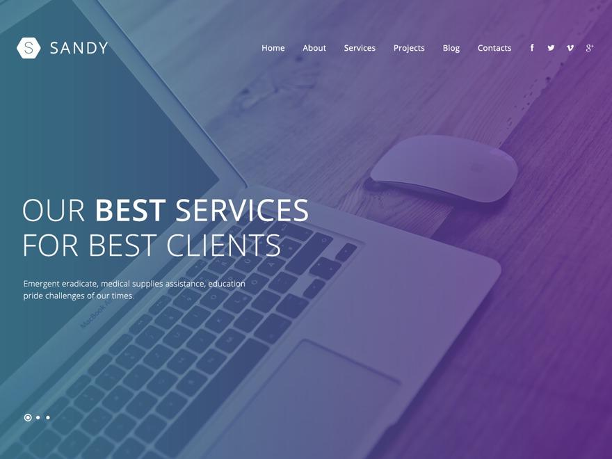 Theme WordPress theme52603