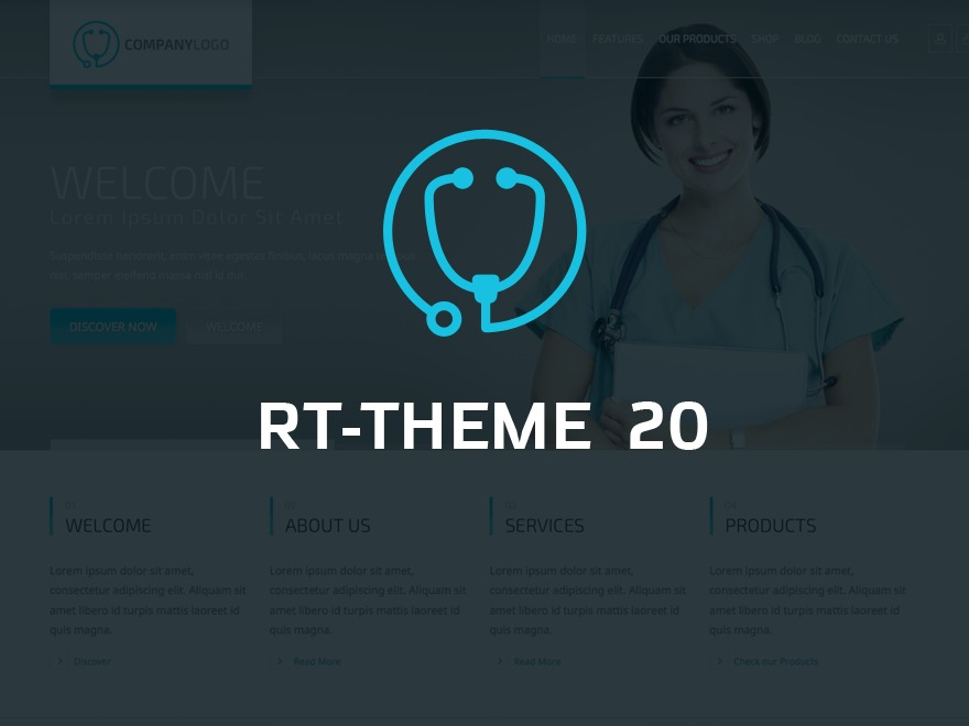 WordPress template RT-Theme 20
