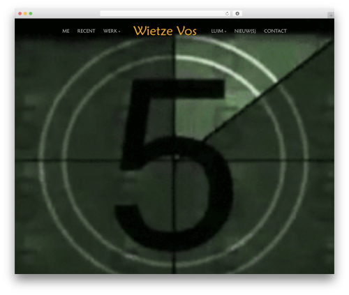 WordPress theme Acid - wietzevos.nl