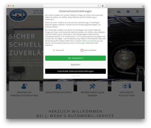 WP template Main Theme - wenks.de