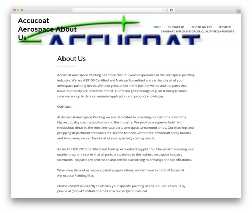 Cell best WordPress theme - accucoat-aerospace.com