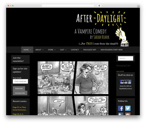 GeneratePress WordPress template free - afterdaylight.com
