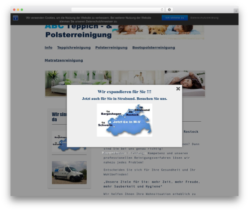 Kvarken best free WordPress theme - abc-reinigungen.de
