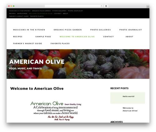 Restaurant Advisor free website theme - americanolive.net