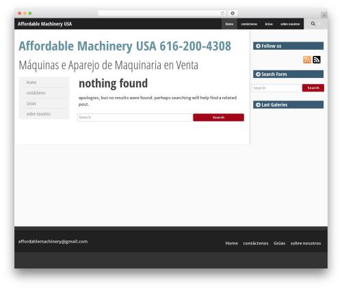 SmartAdapt WordPress theme download - affordablemachinery.com.mx