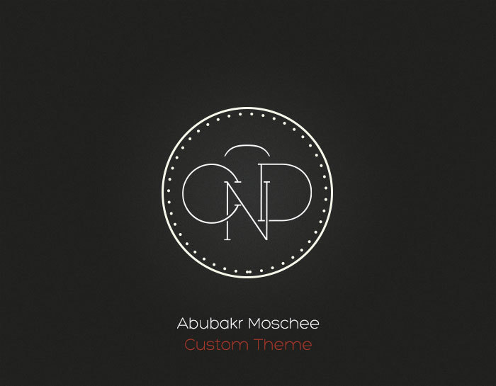 Theme WordPress Abubakr Moschee - Custom