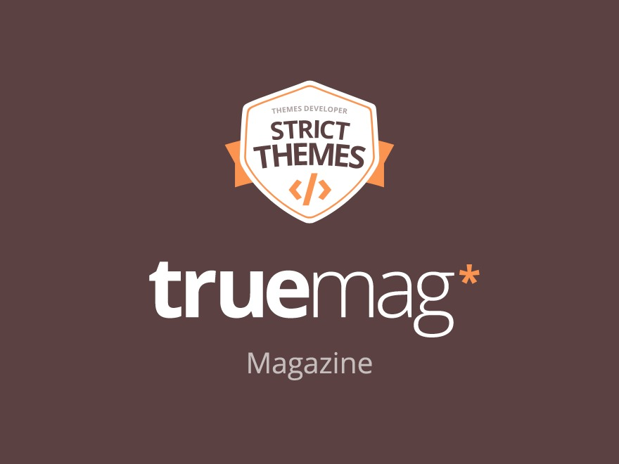 Truemag child premium WordPress theme