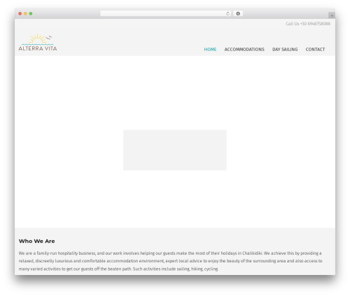 Unicon WordPress theme - alterravita.com