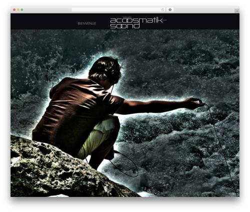 Acid WordPress blog theme - acoosmatiksoond.com