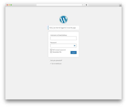 Free WordPress Private! WordPress Access Control Manager plugin by