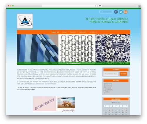 D5 Socialia free WP theme - altex-tr.com