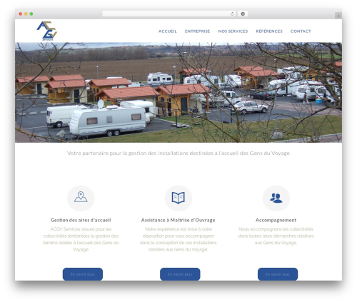 The Simple WordPress theme - acgvservices.fr