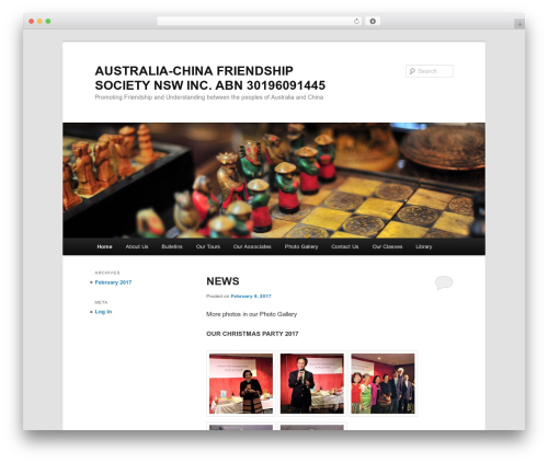 Twenty Eleven WordPress theme - acfsnsw.org.au