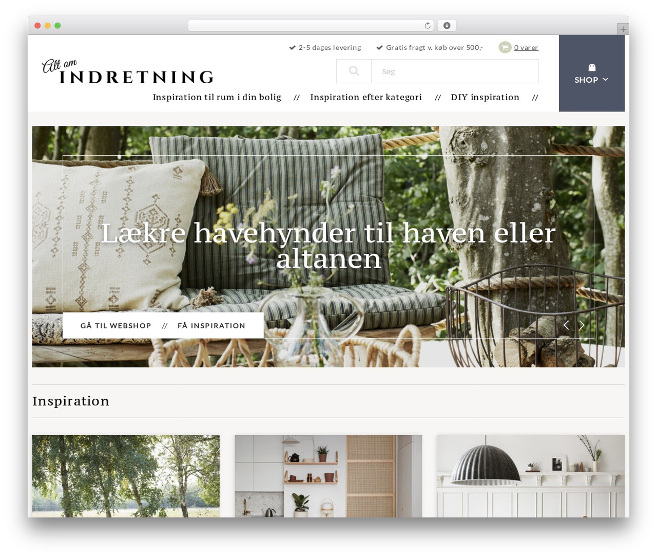 WordPress theme Altomindretning - altomindretning.dk