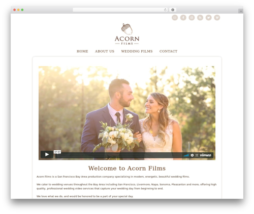 Best WordPress template Genesis - acorn-films.com
