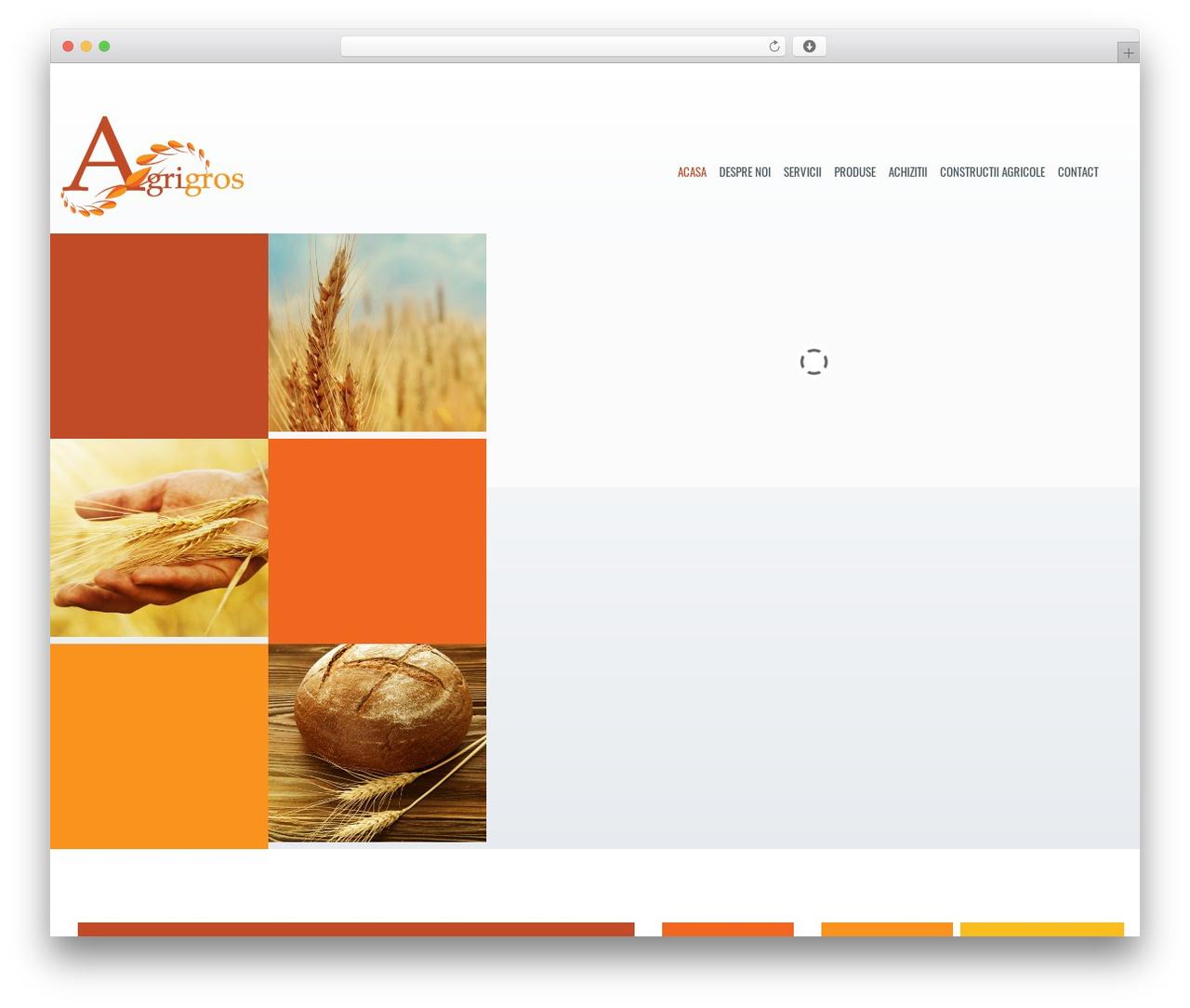 Best WordPress theme Klasik - agrigros.ro/ro/acasa