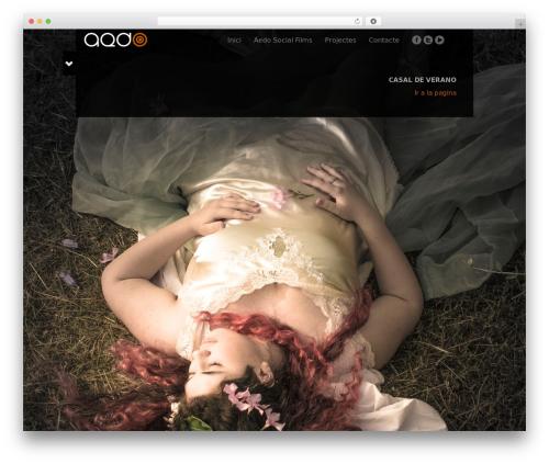 Black Label theme WordPress - aedo.tv