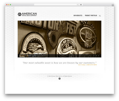 Prestige Ultimate Wordpress Theme WordPress template for business - americanmetalsign.com