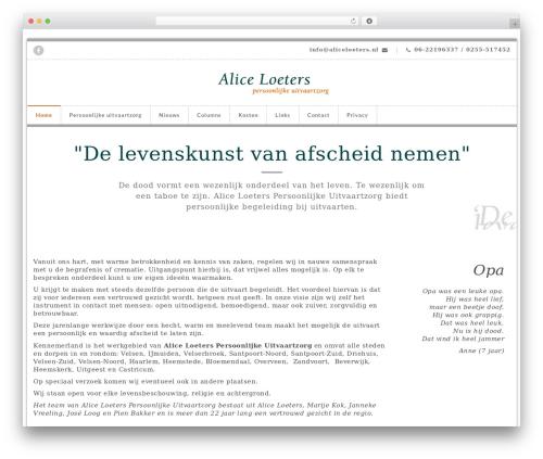 Theme WordPress ElitePress - aliceloeters.nl