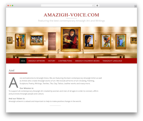 Theme WordPress Pure Simple Pro - amazigh-voice.com