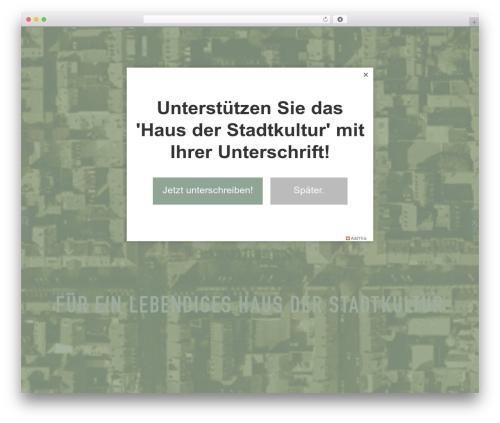 WordPress zoo-shortcodes plugin - altesgericht.de