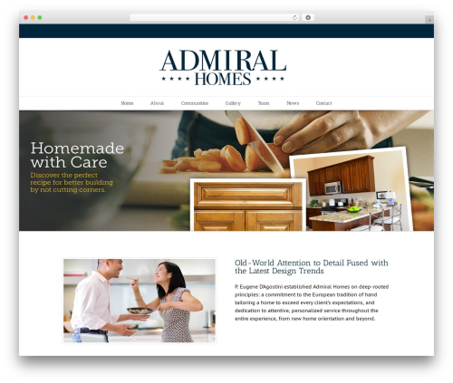 Avada top WordPress theme - admiralhomesmichigan.com