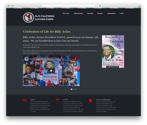 Best WordPress template Swatch - acleather.org
