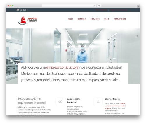 Extent theme WordPress - aen.mx