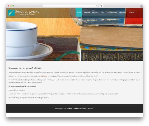 Lavish theme WordPress free - allisonlgoldstein.com