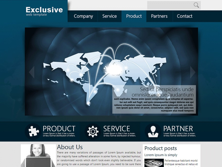 Martyn AlvinCR Exclusive business WordPress theme
