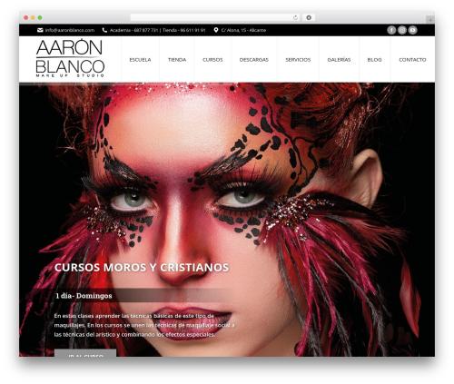 The7 best WordPress theme - aaronblanco.com