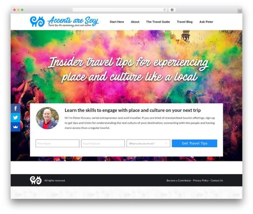 Free WordPress Instagram Feed plugin - accentsaresexy.org